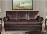 Hunter Sofa in Sienna Leather by Parker House - SHUN-932-SI