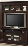 Stanford 60 Inch TV Console and Bookcase TV Hutch in Light Vintage Sherry Finish by Parker House - STA-405-2