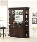 Stanford 4 Piece Bar Unit in Light Vintage Sherry Finish by Parker House - STA-465-04