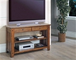 Sedona 50-Inch TV Console/Sofa Table in Antique Vintage Oak Finish by Parker House - TAB-13-07