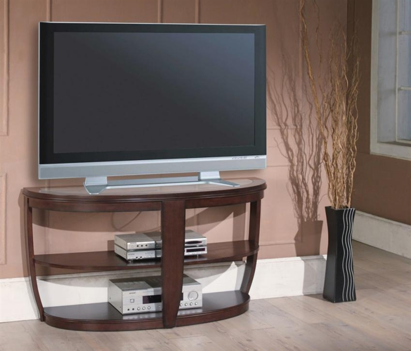 Sterling 52 inch tv console sofa table in espresso finish for Table 52 prices