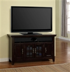 Tahoe 50-Inch TV Console in Vintage Black Burnished Finish by Parker House - TAH-50