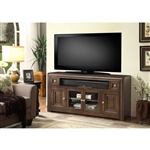 Tempo 62-Inch TV Console in Burnished Dark Mocha Finish by Parker House - TEM-62