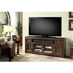 Tempo 84-Inch TV Console in Burnished Dark Mocha Finish by Parker House - TEM-84
