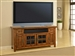 Terrace 62-Inch TV Console in Antique Vintage Smoked Ash Finish by Parker House - TER-62