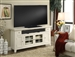 Tidewater 62-Inch TV Console in Vintage White Finish by Parker House - TID-62