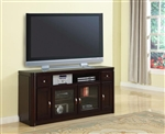 Toronto 62-Inch TV Console in Cabernet Finish by Parker House - TOR-62