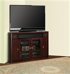 Toronto 62-Inch TV Corner Console in Cabernet Finish by Parker House - TOR-62CR