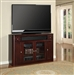 Toronto 62-Inch TV Tall Console in Cabernet Finish by Parker House - TOR-62TL