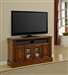 Toscano 50-Inch TV Console in Antique Vintage Dark Chestnut Finish by Parker House - TOS-50