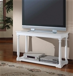 Alpine 48-Inch TV Console/Sofa Table in Cottage White Finish by Parker House - TPAL-07