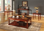 Andrews Occasional Tables in Traditional Cherry Finish by Parker House - TPAN-00