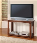 Aspen 48-Inch TV Console/Sofa Table in Antique Vintage Oak Finish by Parker House - TPAS-07