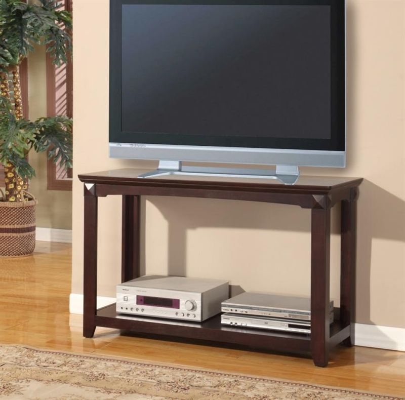 Auburn 48 Inch TV Console/Sofa Table In Merlot Finish By Parker House    TPAU 07