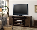 Tribeca 63 Inch TV  Console in Vintage Weathered Pine Finish by Parker House - TRI-63