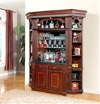 Wellington 4 Piece Bar Unit in Vintage Brown Mahogany Finish by Parker House - WEL-465-2-4