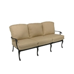 Savannah Outdoor Sofa in Aged Black Finish by Palm Springs Rattan - 7303