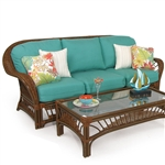Bali Outdoor Sofa by Palm Springs Rattan - P4403