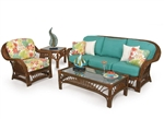 Bali 2 Piece Outdoor Sofa Set by Palm Springs Rattan - P4403-S