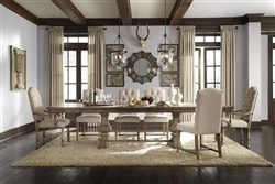 Accentrics Desdemona 7 Piece Dining Room Set by Pulaski - PUL-201005