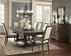 Accentrics Montserrat 7 Piece Dining Room Set by Pulaski - PUL-201015