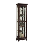 PFC Curio Cherry-Foxhall Finish Display Cabinets by Pulaski - PUL-21484