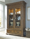 Stratton Light Finish China Cabinet by Pulaski - PUL-737300
