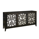 PFC Accents 3 Door Console with New Age Finish by Pulaski - PUL-806077