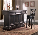 PFC Accents Bar Base with Dark Brookfield Finish by Pulaski - PUL-993499