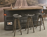 PFC Accents Bar with Granite Falls Finish by Pulaski - PUL-P006112