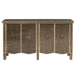 PFC Accents Console with Tiara Silver Finish by Pulaski - PUL-P017041