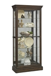 PFC Sliding Front Curio with Hillsville Finish by Pulaski - PUL-P021554