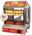 The Dog Hut Hotdog Steamer & Merchandiser
