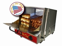 """CLASSIC DOG"" Hot Dog Steamer by Paragon 8080"