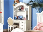 Flora Student Desk in White Finish by Acme - 01687