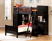 Willoughby Black Finish Twin/Twin Loft Bed by Acme - 10980-2