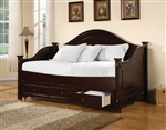 Owen Espresso Daybed with Drawers by Acme - 12085