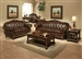 Anondale Brown Leather 2 Piece Living Room Set by Acme - 15030-S