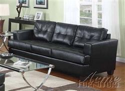 Astounding Diamond Black Leather Sofa By Acme 15090 Cjindustries Chair Design For Home Cjindustriesco