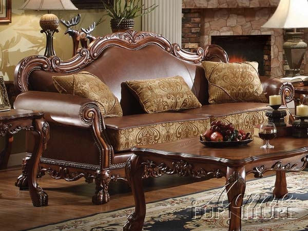 Brilliant Dresden Sofa By Acme 15160 Machost Co Dining Chair Design Ideas Machostcouk