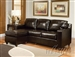 Vogue Reversible Chaise Sectional in Espresso Bycast by Acme - 15913