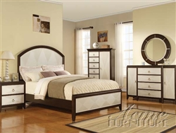 Audry 6 Piece Panel Bedroom Set by Acme - 19980Q