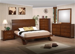 Galleries 6 Piece Bedroom Set in Oak Finish by Acme - 20230