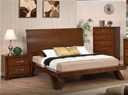Galleries Bed in Oak Finish by Acme - 20230Q