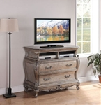 Chantelle TV Console in Antique Silver Finish by Acme - 20547