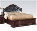 Veradisia Storage Bed in Dark Cherry Finish by Acme - 20630Q