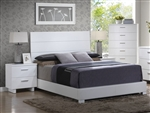 Lorimar Bed in White Finish by Acme - 22630Q