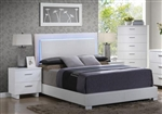Lorimar Bed in White Finish by Acme - 22640Q