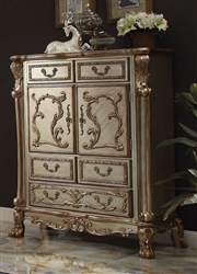 Dresden Chest in Gold Patina Finish by Acme - 23166