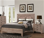 Ireton Bed in Caramel Finish by Acme - 26030Q